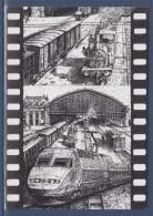 = Carte Postale Exposition 95 Salon D'Honneur Gare Saint Jean Bordeaux Par Association Cartophile Floirac Trains & Gare - Sammlerbörsen & Sammlerausstellungen