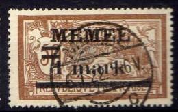 Memel 1920 Mi 26, Gestempelt [301016XIII] - Memelgebiet