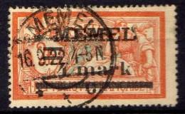 Memel 1920 Mi 31 I X, Gestempelt [301016XIII] - Memelgebiet