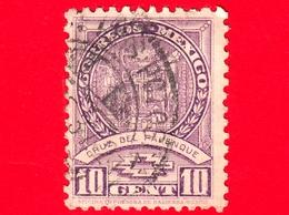 MESSICO -  Usato - 1936 - Storia E Origini Etniche - Croce Di Palenque - Scritta: 'Oficina Impresora.. - 10 - Messico