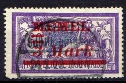 Memel 1921 Mi 37, Gestempelt [301016XIII] - Memelgebiet