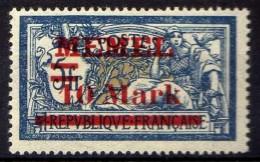 Memel 1921 Mi 38 I * [301016XIII] - Memelgebiet