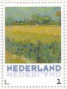 Persoonlijke Postzegel Zelfklevend Postfris Vincent Van Gogh Field With Irises Near Arles - Netherlands