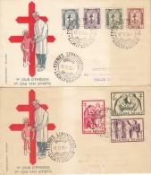 Nr 998/1004 FDC (07808) - 1951-60