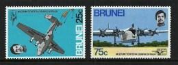 BRUNEI 1972 AIRCRAFT MILITARY RAF MUSEUM HENDON SET MNH - Brunei (1984-...)