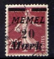 Memel 1922 Mi 109, Gestempelt [301016XIII] - Klaipeda