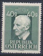 Österreich 1949, ANK 953 **, 125. Geburtstag Komponist Anton Bruckner (ANK 13.- €) - Musik