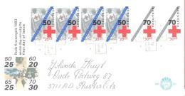 Nederland   NVPH  FDC 211   Rode Kruis  Met Plaatfout  1293 A  PM 2 - Variétés Et Curiosités