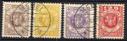 Memel / Klaipeda 1923 Mi 141-142; 144; 146, Gestempelt [301016XIII] - Memelgebiet