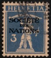 ~~~ Switzerland 1927 - Societe Des Nations SDN - Mi. 27 (o) Used ~~~ - Service