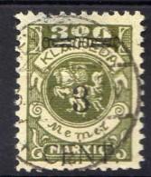 Memel (Klaipeda) 1923 Mi 179, Gestempelt [301016XIII] - Memelgebiet