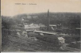 CPA Sucre Sugar Métier Sucrerie Vierzy Aisne écrite - Industry