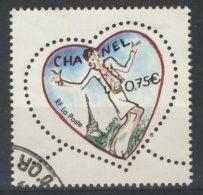 France 2003 - Oblitéré - Y&T N° 3633 Saint-Valentin : Coeur Du Couturier Karl Lagerfeld - Tailleur Chanel - France