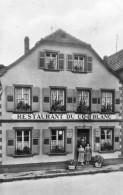 CPSM - NIEDERBRONN-les-BAINS (67) - Aspect Du Restaurant Du Coc Blanc En 1959 - Plaque émaillée Bière Moritz - Niederbronn Les Bains