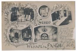 CPA - BURG (Schleswig-Holstein) - Gruss Aus Wisser's Hôtel - Allemagne