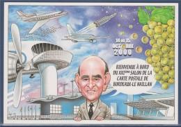 = 21ème Salon De La Carte Postale 2000, Bordeaux-Le Haillan, Pôle Aéronautique Mérignac, Aéroport, Avions, Spatial - Sammlerbörsen & Sammlerausstellungen