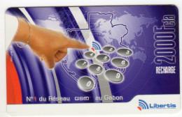 GABON Remote LIBERTIS Date 2006 - Gabon