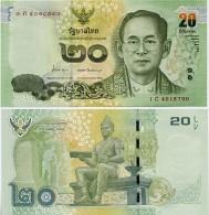 THAILAND       20 Baht       P-New       ND (2013)       UNC  [ Sign. 84 ] - Thailand