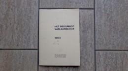 Het Begijnhof Van Aarschot Met 6 Pentekeningen Van Wim Van Kuyck, Tekst Door Cor Ria Leeman, 1983, Nr. 58/150 Ex. - Non Classés