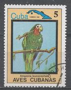 Cuba 1983. Scott #2652 (U) Bird, Amazona Leucocephala * - Cuba