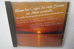 """CD """"Wenn Bei Capri Die Rote Sonne Im Meer Versinkt"""" Das Grosse Starprogramm Musikalischer Urlaubsträume - Klassik"""