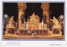 Francia - Cartolina PARIS, CHOEUR DE NOTRE-DAME: LE MAÎTRE-AUTEL (Photo Eric Deffontaine) - PERFETTA L44 - Ile-de-France