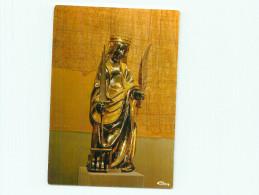 Cpsm -  Conques -  Trésor ,Statue De Ste Foy ,Argent Et Vermeil    M1167 - Francia