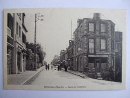 AL8 -  50  -  BARENTON  -  ROUTE  DE DOMFRONT - - Barenton