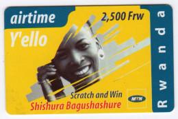RWANDA Recharge AIRTIME MTN Date 2004 - Rwanda