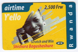 RWANDA Recharge AIRTIME MTN Date 2004