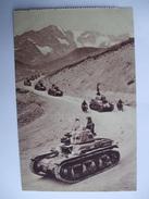 AL 8 - MILITARIA  -  CHARS  EN MONTAGNE -  LIGNE MAGINOT - Manoeuvres