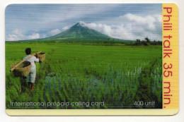 PHILPPINES Recharge PHILI TALK 400U Date 2002 - Philippines