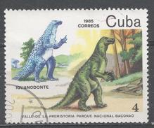 Cuba 1985. Scott #2767 (U) Baconao Natl. Park, Iguanodontus * - Cuba