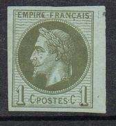 COLONIES GENERALES N°7 N* - Napoleon III