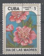 Cuba 1985. Scott #2789 (U) Mother's Day, Peonies * - Cuba