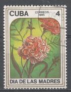 Cuba 1985. Scott #2790 (U) Mother's Day, Carnations * - Cuba