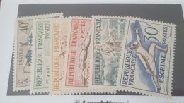 LOT 329332 TIMBRE DE FRANCE NEUF** N°960 A 965 VALEUR 90 EUROS - France