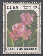 Cuba 1985. Scott #2792 (U) Mother's Day, Roses, Flowers, Fleurs * - Cuba