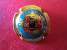 DE CAZANOVE Or Et Bleu. Grand Ecusson - De Cazanove