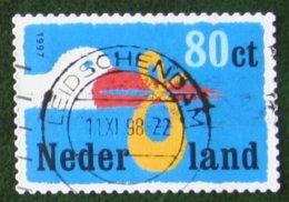 Geboortezegel Gestanst NVPH 1735 (Mi 1631); 1997 Gestempeld / Used NEDERLAND / NIEDERLANDE - 1980-... (Beatrix)