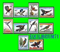 233/242** Oiseaux / Vogels - RWANDA - 1962-69: Ungebraucht
