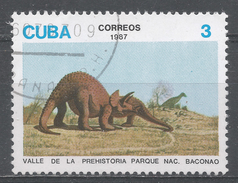 Cuba 1987. Scott #2954 (U) Dinosaur Exhibits, Bacanao Natl. Park * - Cuba