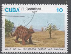 Cuba 1987. Scott #2956 (U) Dinosaur Exhibits, Bacanao Natl. Park * - Cuba