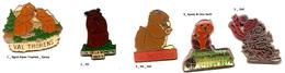 Divers- Marmotte__Lot 2 Pin's Aux Choix Sur 5 Présentés_ - Animals