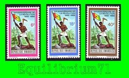 319/321** - 10e Anniversaire De La Révolution / 10e Verjaring Van De Revolutie - RWANDA - 1962-69: Ungebraucht