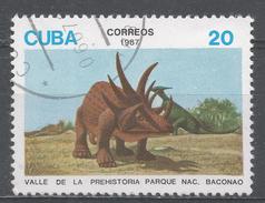 Cuba 1987. Scott #2957 (U) Dinosaur Exhibits, Bacanao Natl. Park * - Cuba