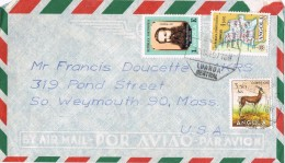 19841. Carta Aerea NAURU 1973. Stamp Flowers, Flores - Nauru