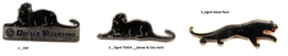 Divers- Panthère Noire__ 1 Pin´s Aux Choix Sur 3 Présentés_ - Animals
