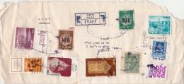 Israël - Lettre Recommandée 19301 HAIFA Timbres - Brieven En Documenten