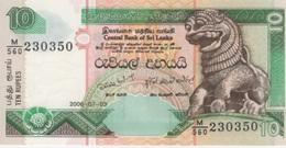 (B0258) SRI LANKA, 2006. 10 Rupees. P-115e. UNC - Sri Lanka
